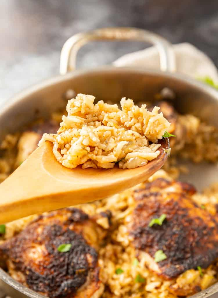 easy chicken and rice dinner