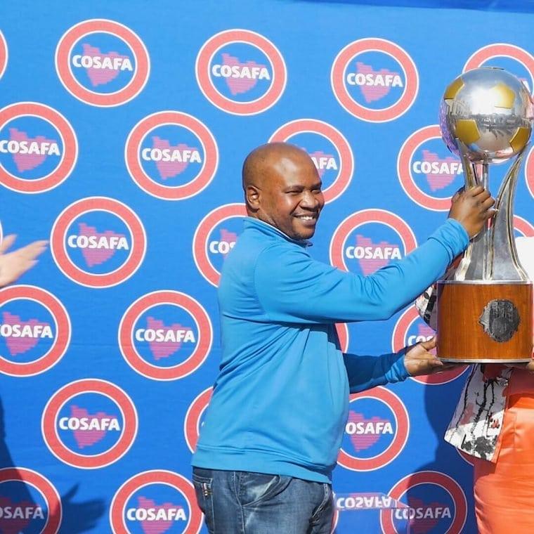 Cosafa Cup trophy tour in Durban menu