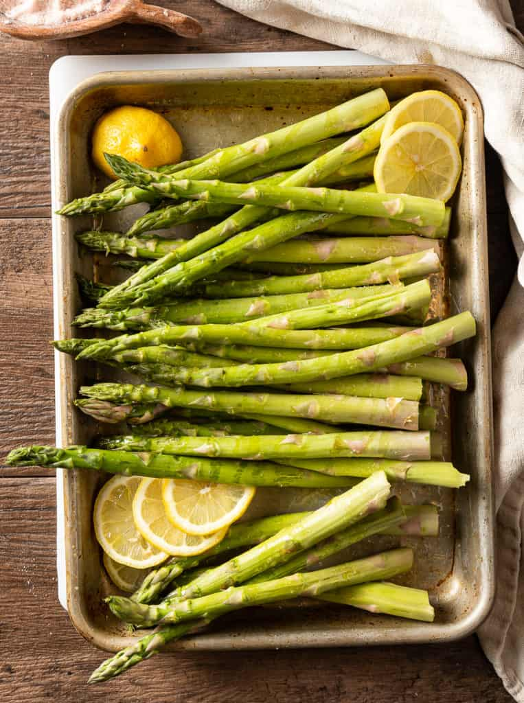 how to prep asparagus for grill