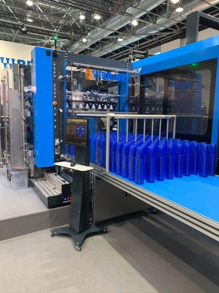 máquina de inyección de plástico