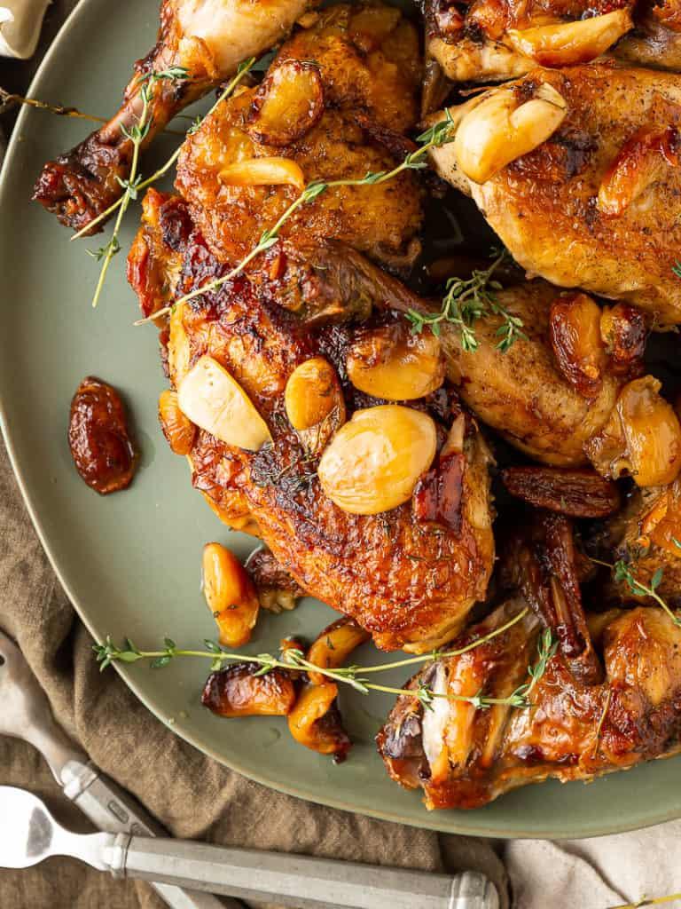 40 clove chicken