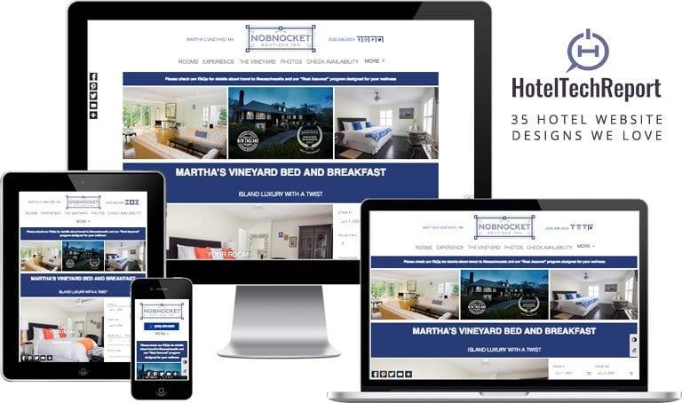 Martha's Vineyard lodging website design