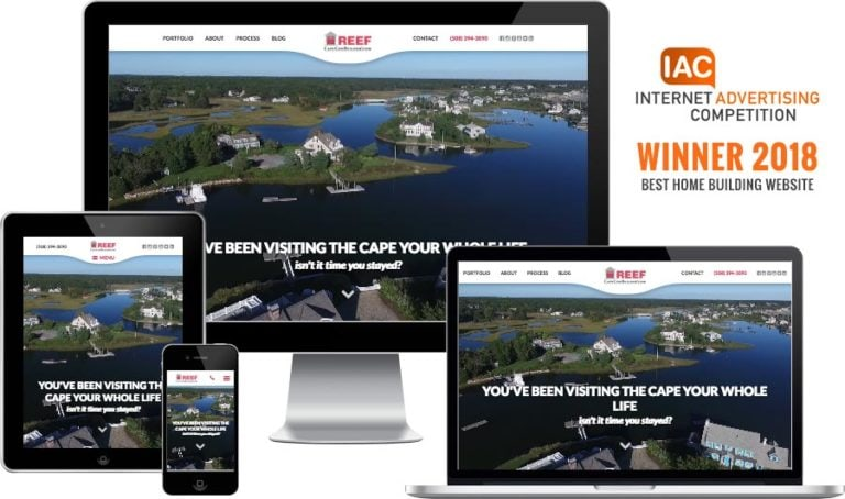 Cape Cod builder website