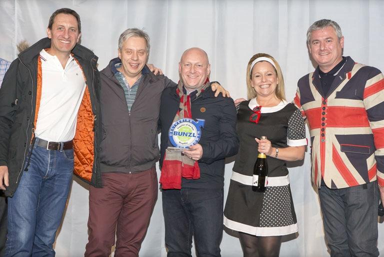Frischhaltefolie-Spender - Wrap Film gewinnt den Preis Zulieferer des Jahres von Bunzl!
