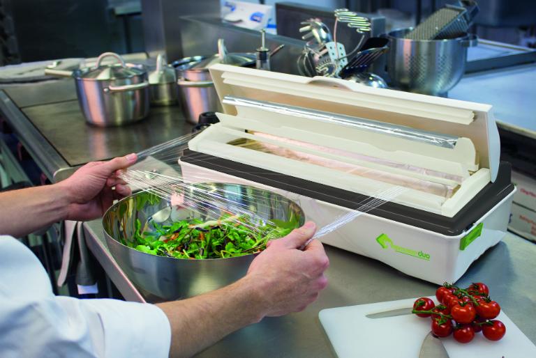 Professional Cling Film Dispenser - Wrapmaster-Duo-Dispenser-Cling-Film-Salad