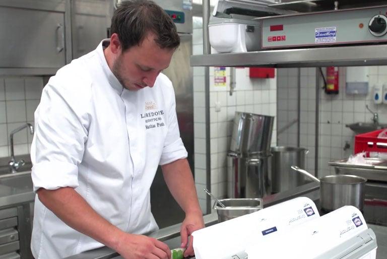 Catering Cling Film Dispenser - Kitchen Foil Dispenser - Cling Film Holder
