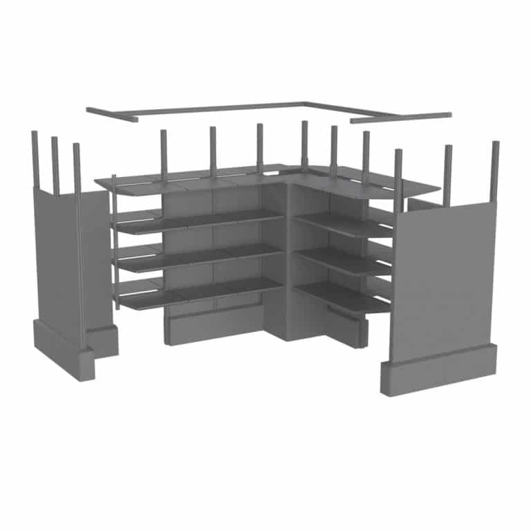 Carlson Fixtures Fast Retail Pop Up Configurations Animation