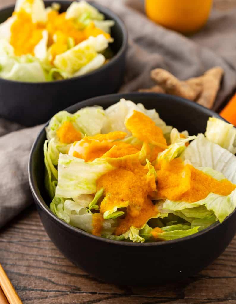 japanese carrot ginger dressing