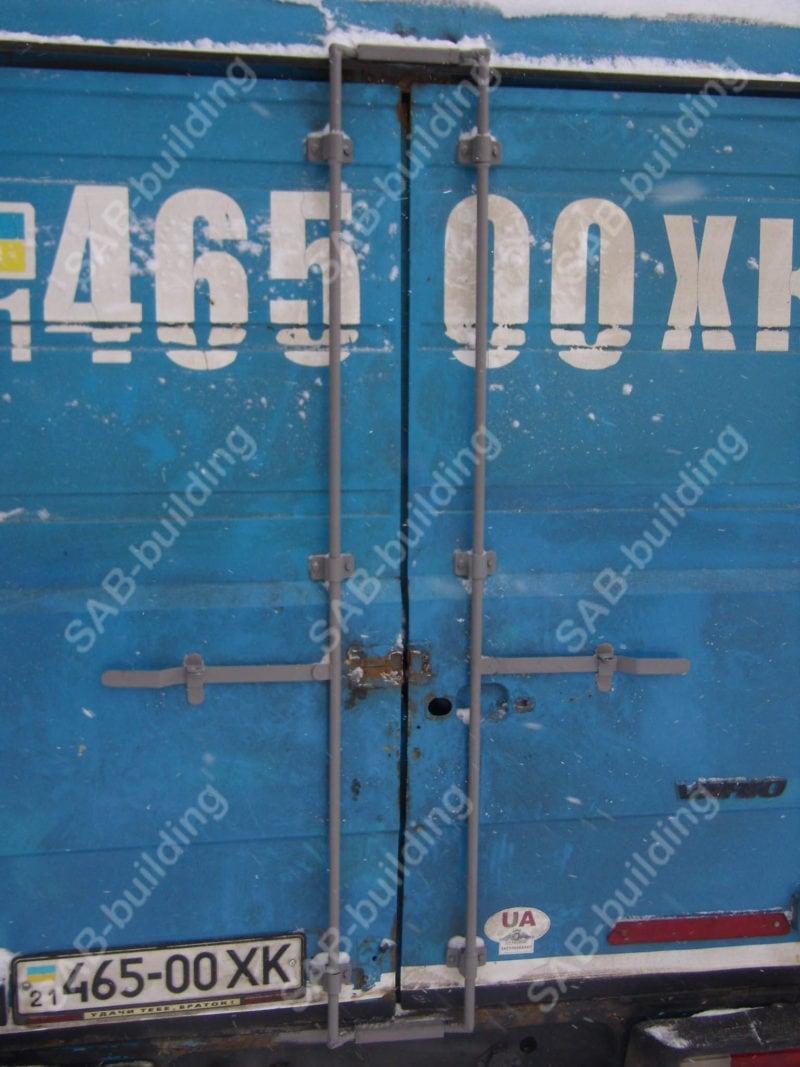 Тенты на металлические фургоны