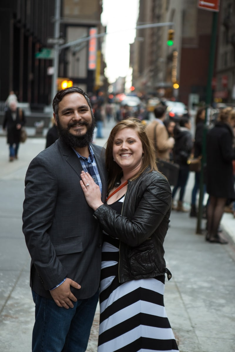 Photo 3 Surprise proposal by Love Sculpture in NYC.   VladLeto