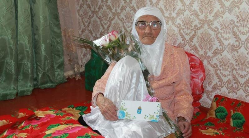 World's oldest person lives in Russia