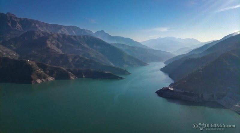 View of Tehri Dam (Uttarakhand, India)