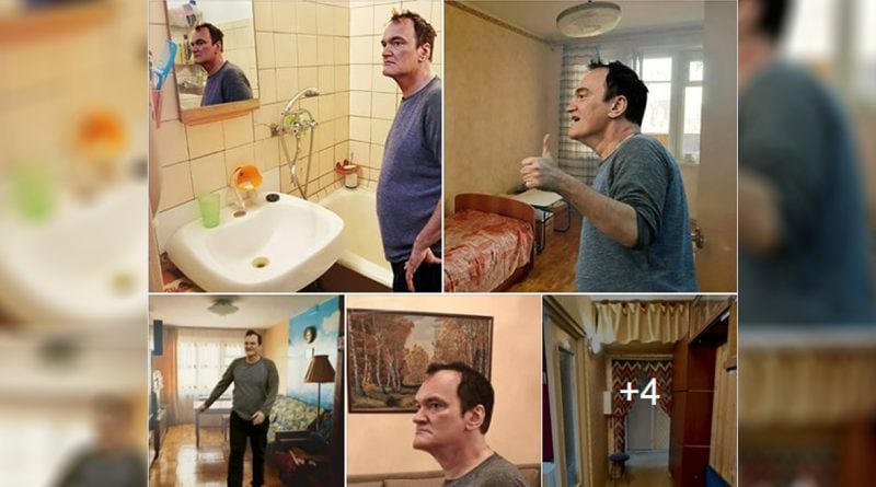 """Creative Russian """"hired"""" Quentin Tarantino to sell flat"""