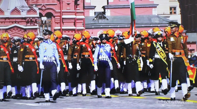 Today India takes part in 75th World War II Victory Parade in Moscow