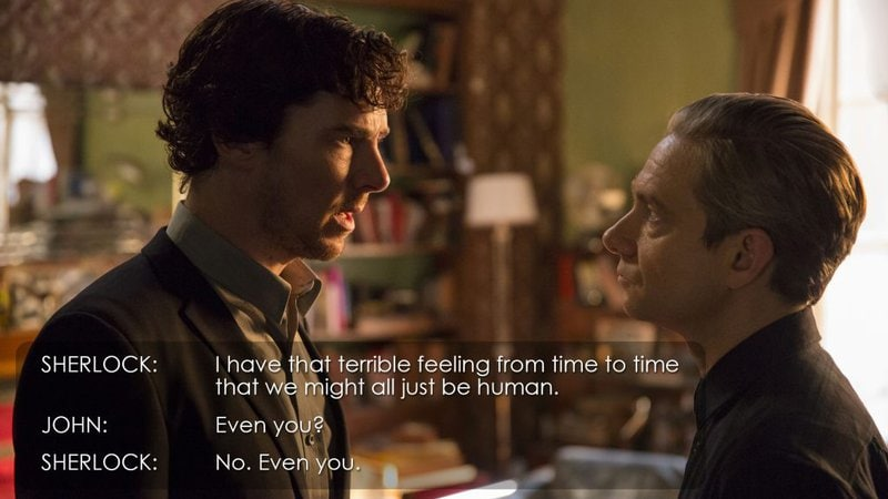 I have that terrible feeling from time to time that we might all just be human.