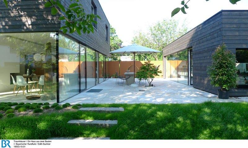 Ein Haus aus zwei Bauten Bild: BR/Edith Buchner