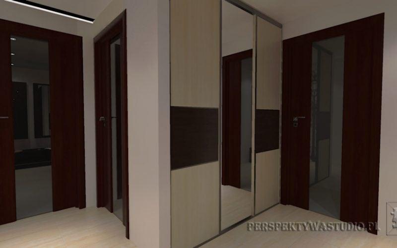 projekt-przedpokoju-projektowanie-wnętrz-lublin-perspektywa-studio-przedpokój-Uliczka-3