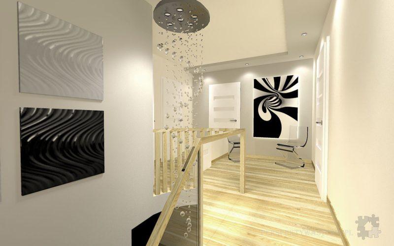 projekt-przedpokoju-projektowanie-wnętrz-lublin-perspektywa-studio-przedpokój-schody-Kaskada-4