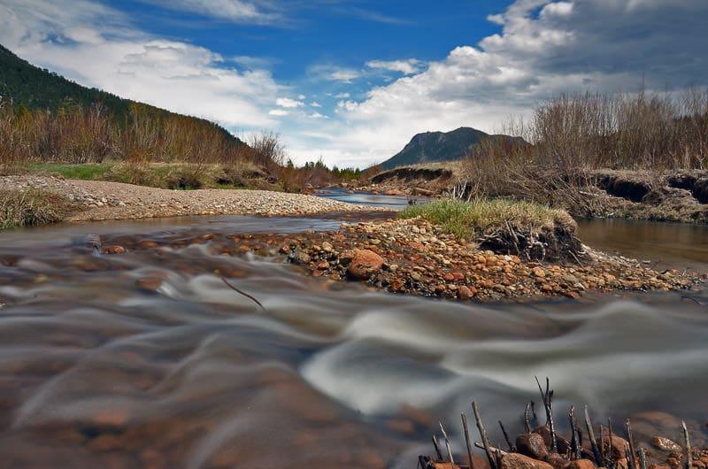 rocky mountain national park stream