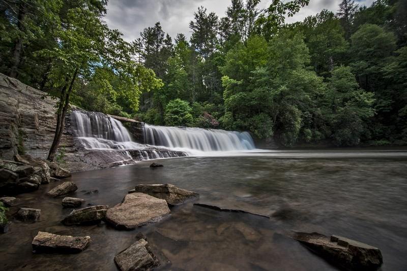 hooker falls in North Carolina