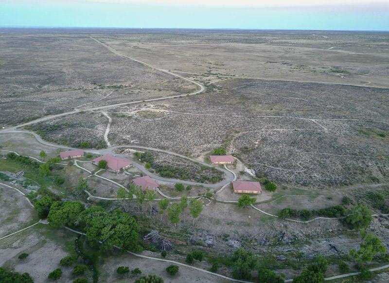 Aerial view of Camp Washington Ranch