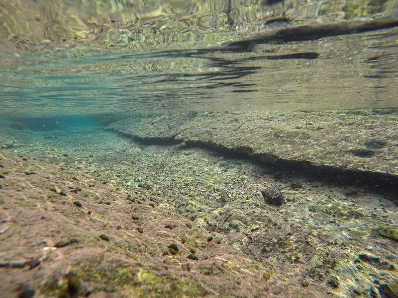 The clear water near Jacob's well