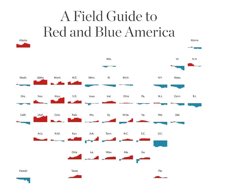 red blue america wsj