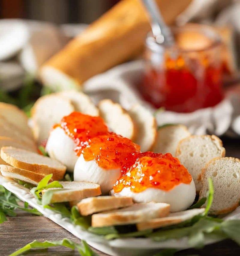 how to make burrata appetizer