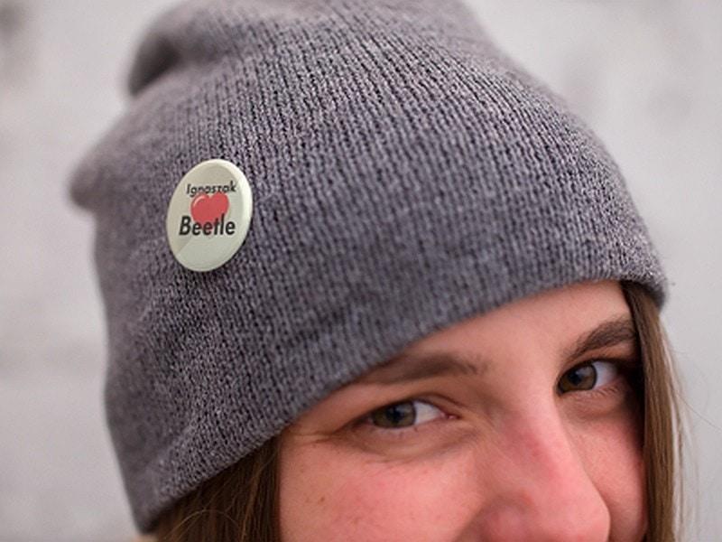 Przypinka na czapce