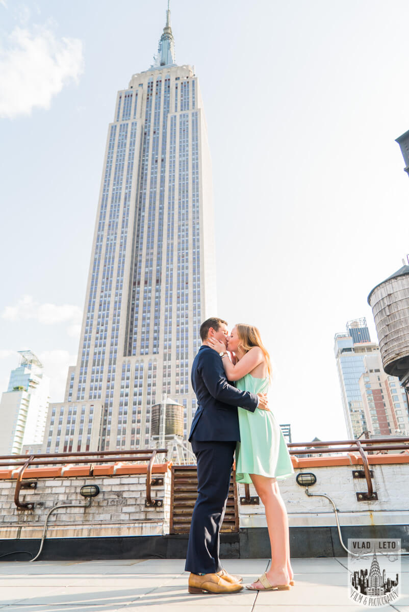 Photo 3 Empire State building view Marriage proposal.   VladLeto