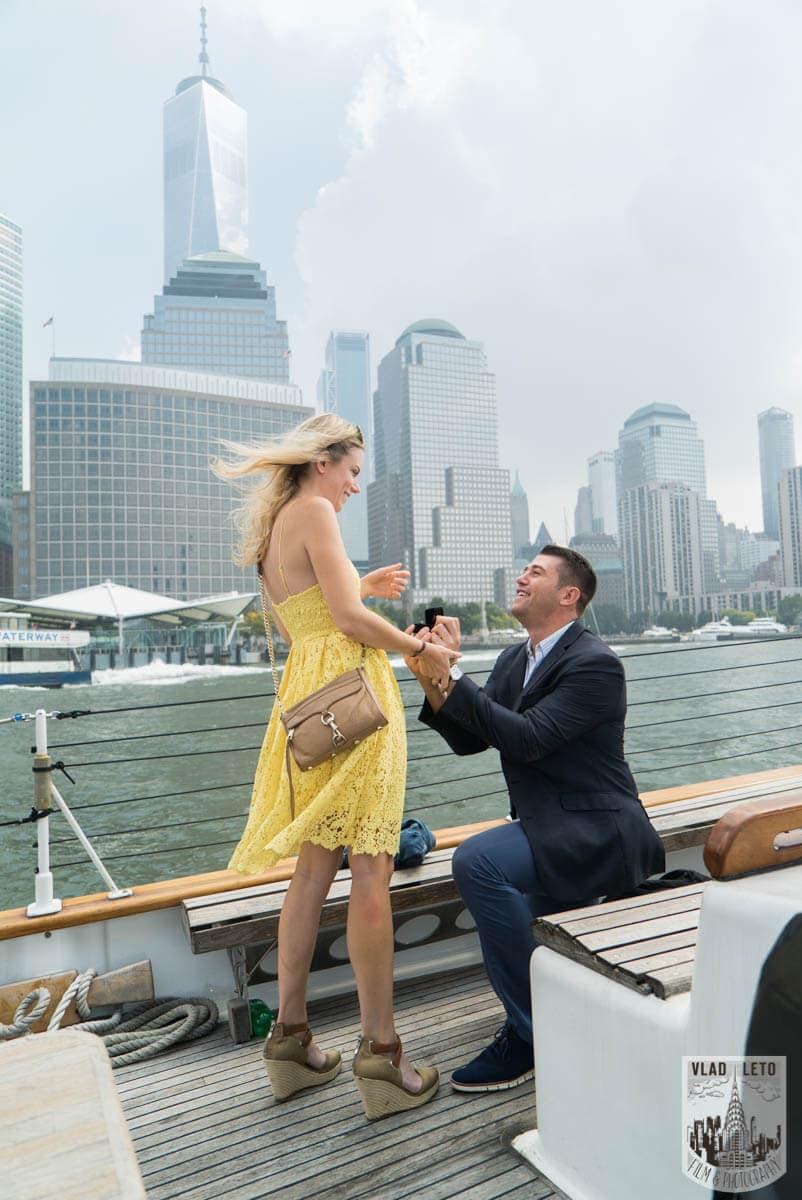 Photo Private boat Marriage Proposal | VladLeto