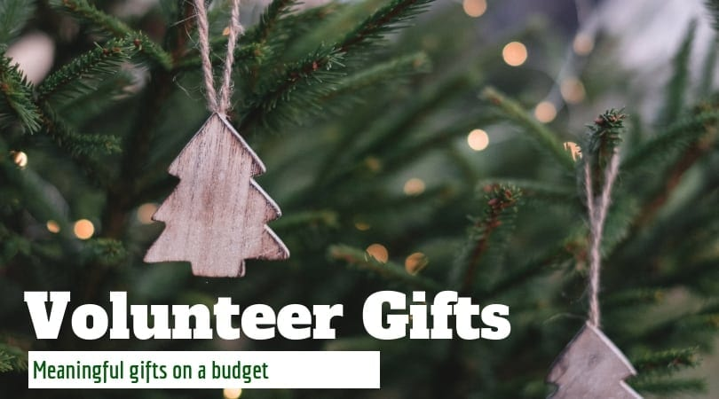 Volunteer Gifts on a Budget