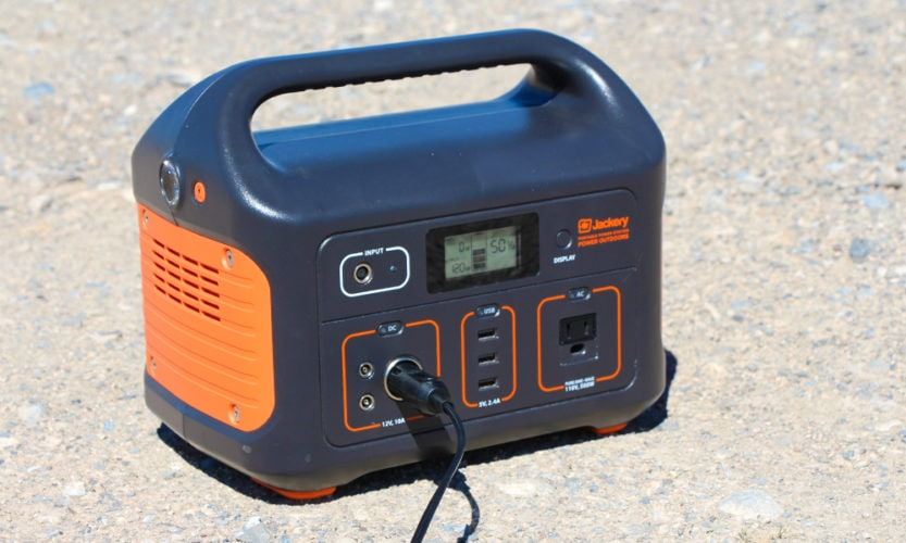 The Outdoor Master SUP Pump pulled 120 watts from my Jackery 500 at the highest pressure stage.