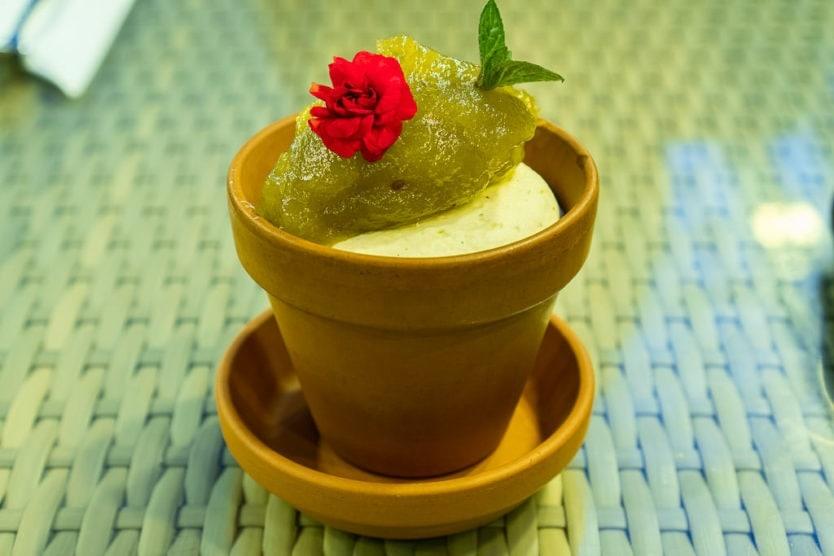 Fridheimar Greenhouse dessert