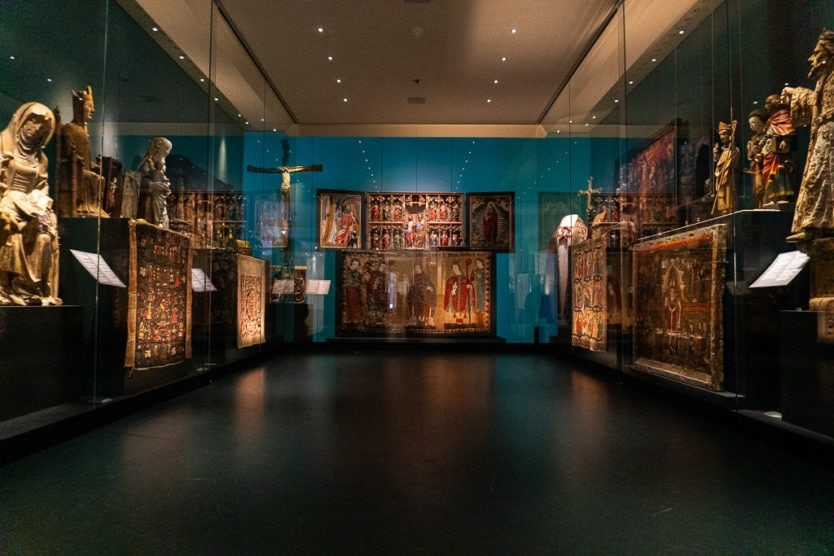 national museum of iceland religious artifacts display