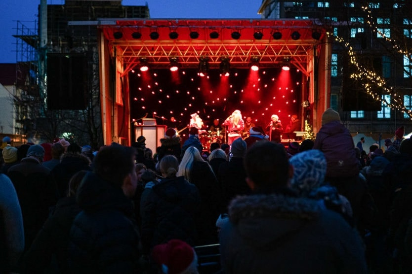 reykjavik christmas markets yule lads show
