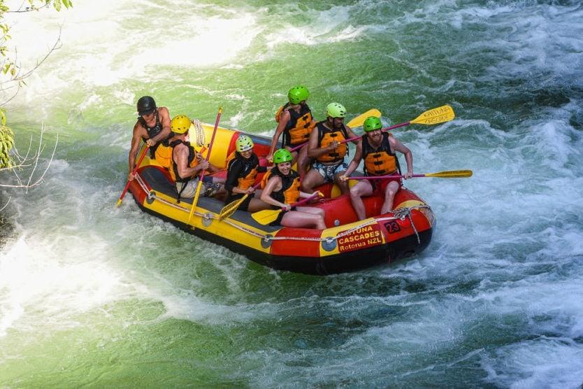 kaituna cascades rotorua rafting trip