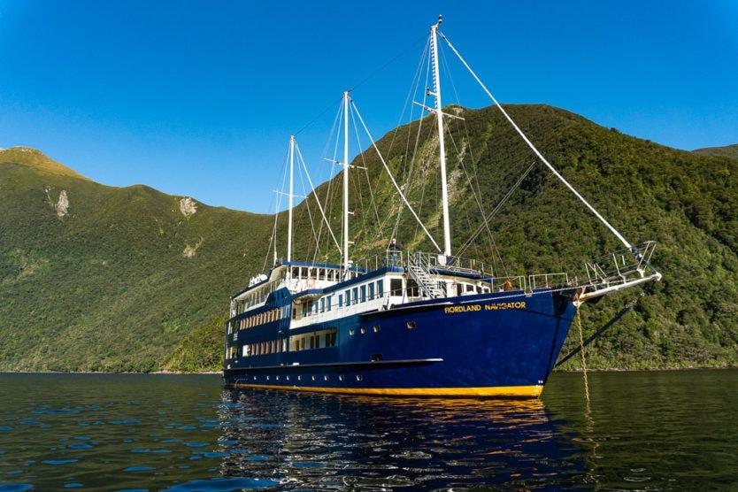 real journeys doubtful sound overnight cruise fiordland navigator