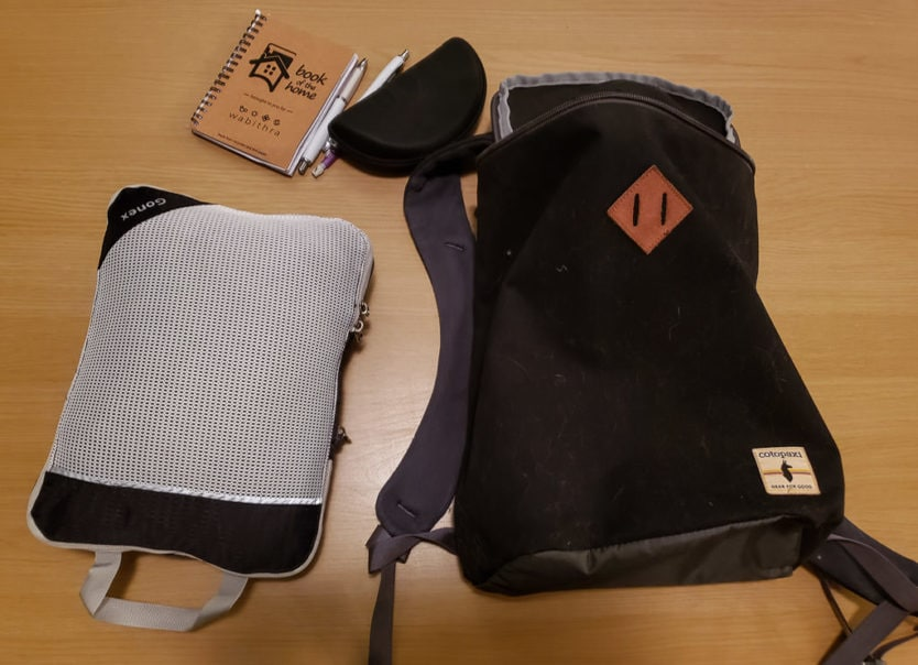 small personal item bag