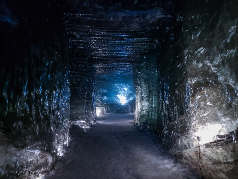 mountaineers of iceland snowmobile tour and langjokull glacier ice cave tour