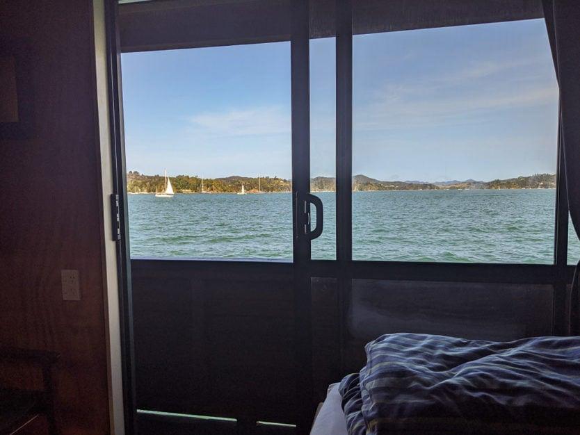 the rock overnight cruise boat private cabin