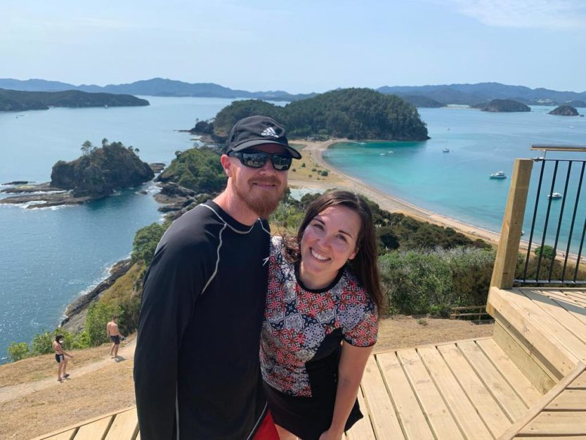 bay of islands explorations on The Rock Overnight Cruise in Paihia New Zealand