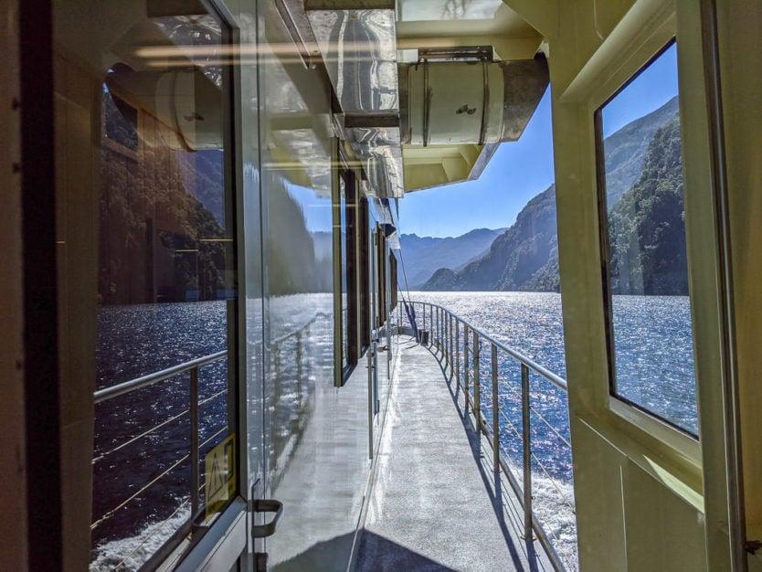 real journeys doubtful sound overnight cruise fiordland navigator views