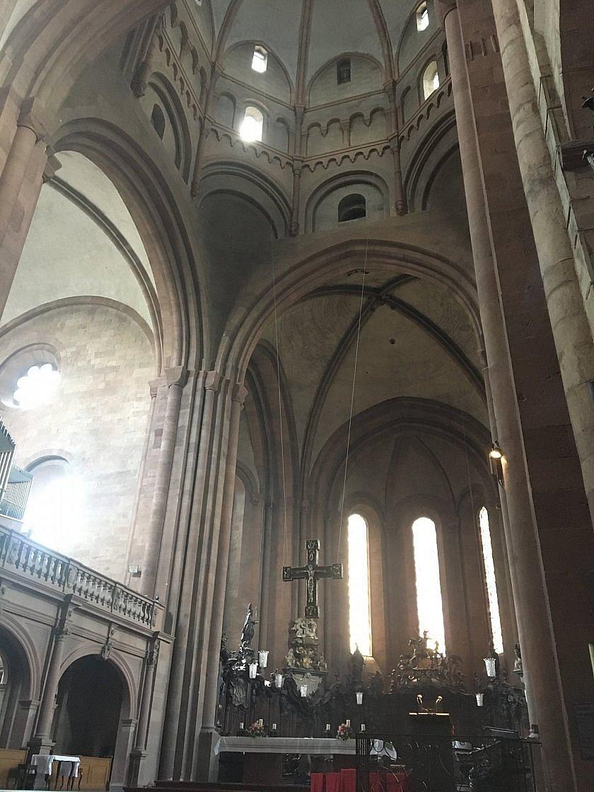 Mainzer Dom - Innenansicht