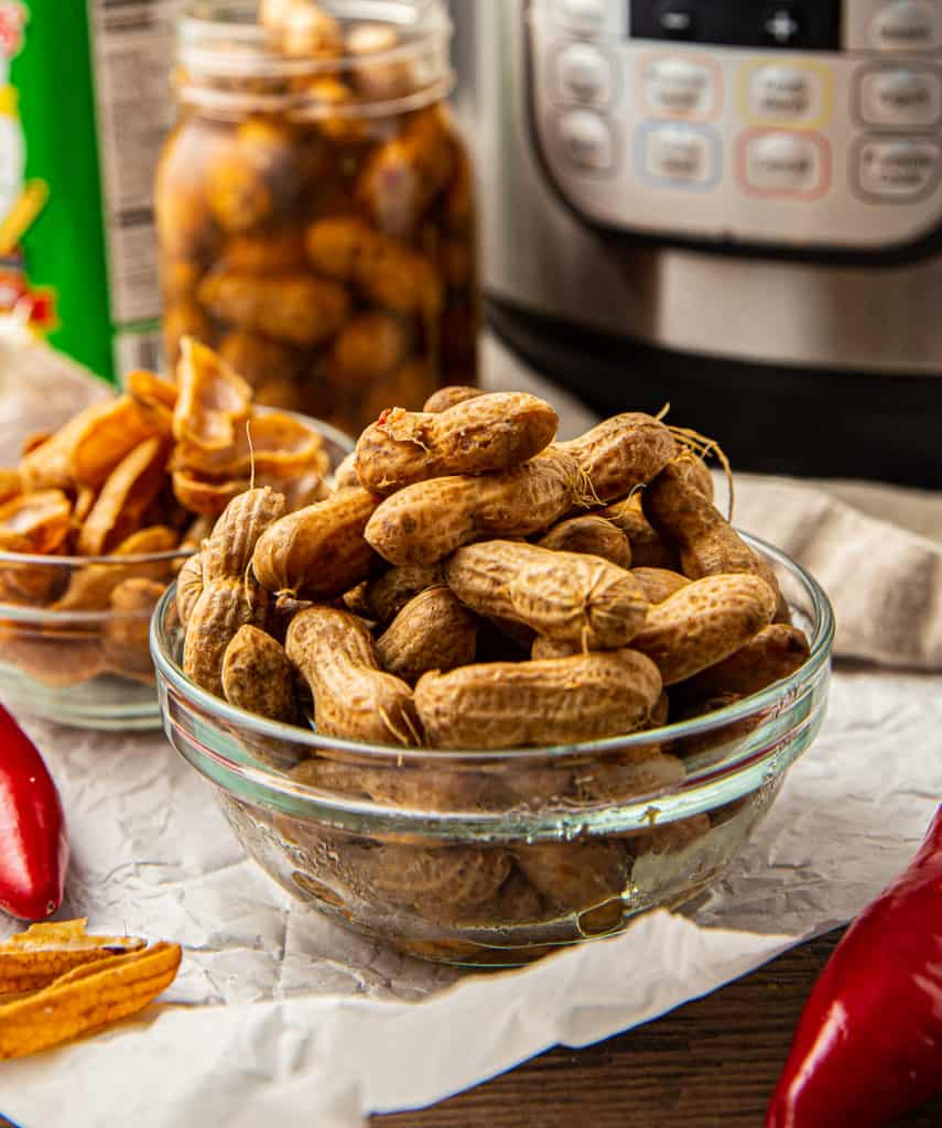 Instant Pot Boiled Peanuts Spicy