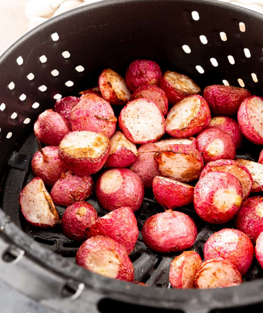 radishes in the air fryer
