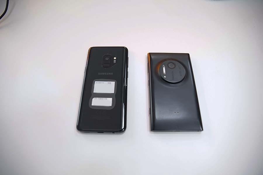 samsung s9 vs lumia 1020