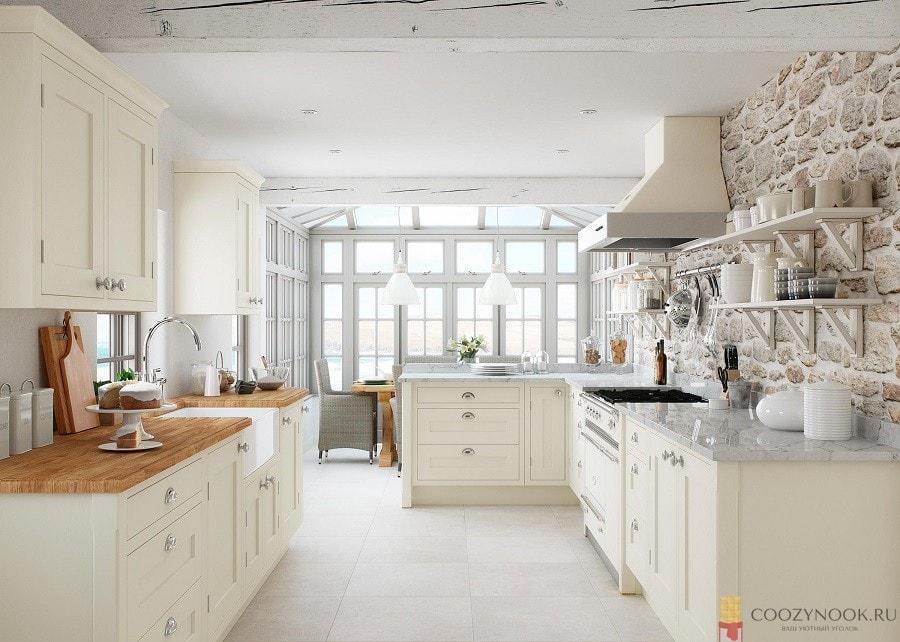 айвори, цвет, кухня, фото, пример, в скандинавском стиле, слоновая кость