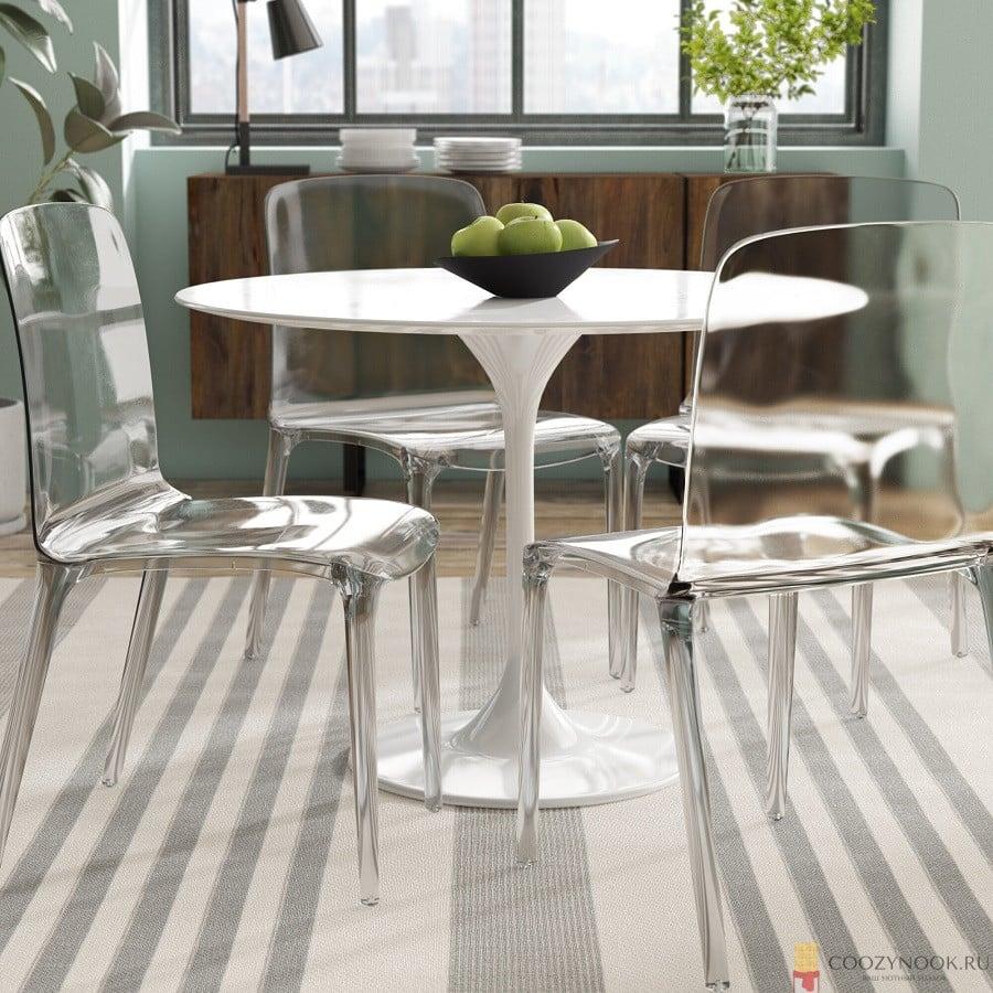 стулья, кухня, в скандинавском стиле, фото, пример