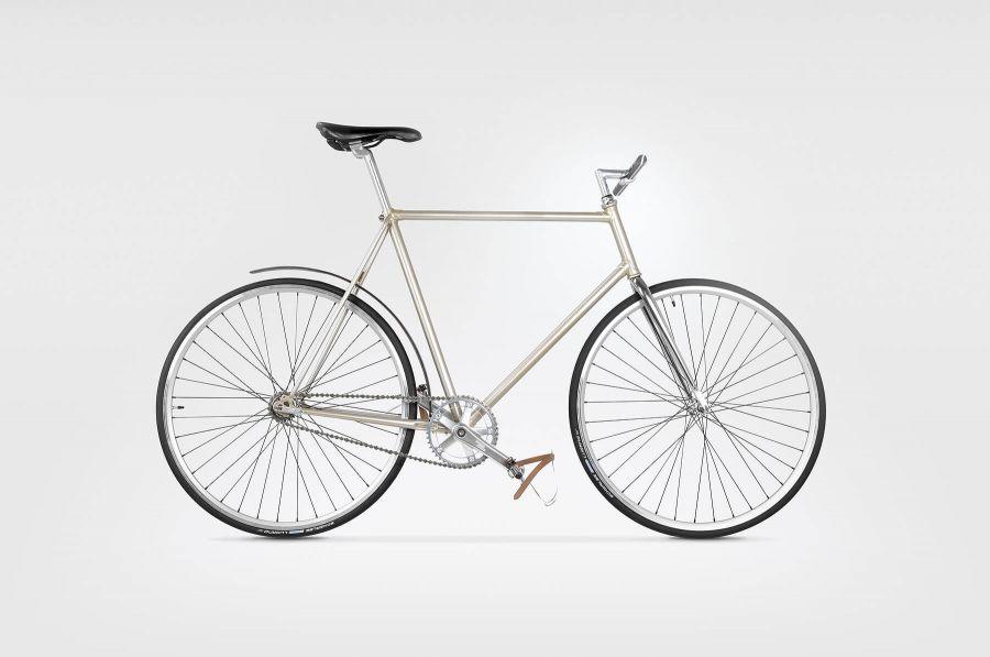 Goldie&Oldie Rower GOLDIE 6000 z drewnianymi akcesoriami